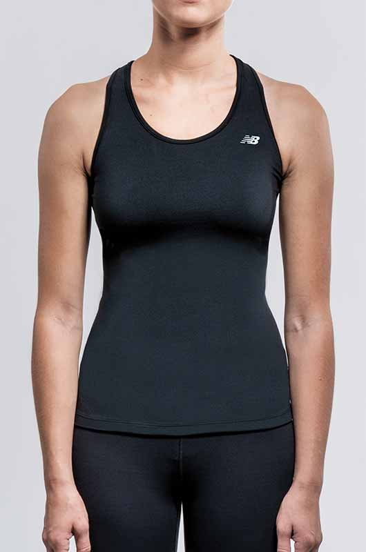 Image of woman wearing fitted top