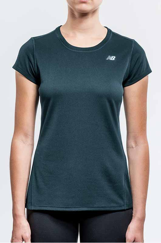 Image of woman wearing athletic top